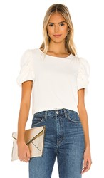 Amanda Uprichard Merris Top In White. Ivory