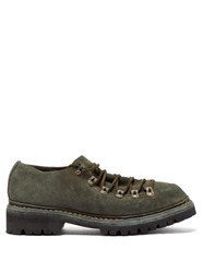 Guidi Low Top Suede Hiking Shoes Grey