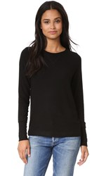 Three Dots Shala Brushed Sweater Black