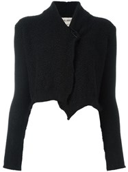 Daniel Andresen Short Cardigan Black