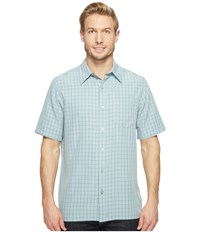 Marmot Eldridge S S Blue Granite Men's Short Sleeve Button Up