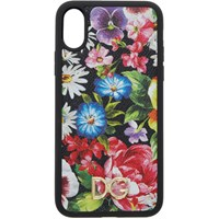 Dolce And Gabbana Multicolor Floral Print Iphone X Case