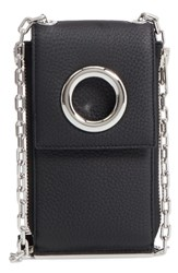 Alexander Wang Women's Riot Leather Wallet On A Chain Black