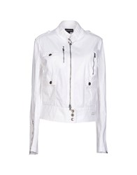 Calvin Klein Jeans Coats And Jackets Jackets Women White