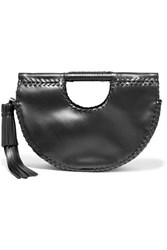 Ulla Johnson Melora Whipstitched Leather Tote Black