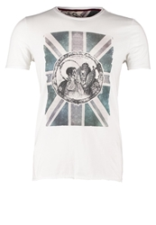 Teddy Smith King Print Tshirt Banc White