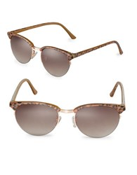 Sam Edelman 55Mm Round Sunglasses Gold