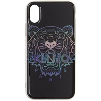 Kenzo Black Limited Edition Holiday Tiger Iphone X Xs Case