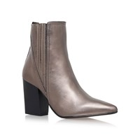 Carvela Slate High Heel Ankle Boots Grey