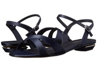 Rsvp Blanca Navy Satin Women's Dress Sandals