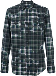 Hydrogen Checked Shirt Multicolour