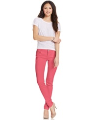 Celebrity Pink Jeans Juniors' Skinny Jeans Calypso Coral