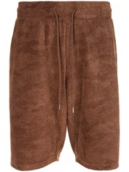 Loveless Jacquard Shorts Brown