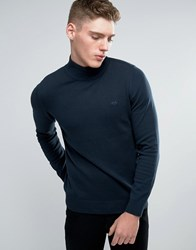 Lindbergh Jumper With Turtle Neck In Navy Navy