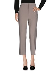 Cappellini By Peserico Casual Pants Grey