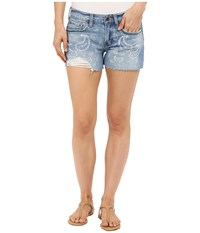 Lucky Brand The Cut Off Shorts American Canyon Women's Shorts Blue