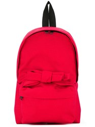 Comme Des Garcons Girl Bow Detail Backpack Red