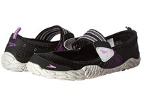Speedo Offshore Strap Black Purple Women's Shoes Multi
