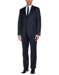 Dkny Suits Dark Blue