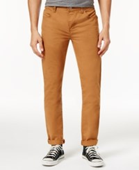 Dickies Men's Flex Slim Tapered Fit Carpenter Pants Brown Duck