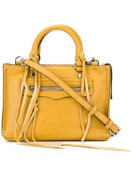 Rebecca Minkoff Detachable Strap Medium Tote Yellow Orange