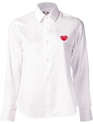 Comme Des Garcons Play Dress Shirt
