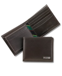 Tommy Hilfiger Fordham Bifold Billfold Wallet Brown