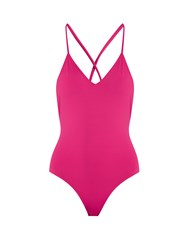 Ephemera Laced Back Swimsuit Pink