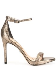 Sam Edelman Ariella Heeled Sandals Metallic