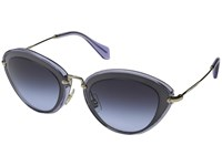 Miu Miu 0Mu 51Rs Navy Blue Gradient Fashion Sunglasses