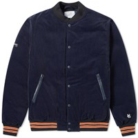 Nanamica Varsity Down Jacket Blue