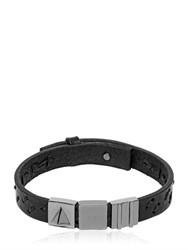Northskull Oka Laser Cut Leather Bracelet