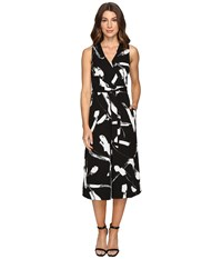Christin Michaels Corbel Jumpsuit Black White Women's Jumpsuit And Rompers One Piece