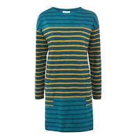 Toast Slub Stripe Tunic Teal Gold