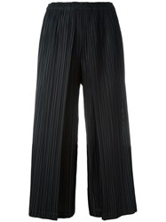 Issey Miyake Pleats Please By Pleated Culottes Black