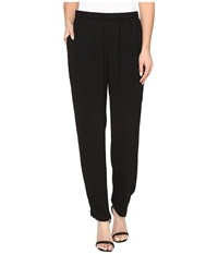 Vince Camuto Essentials Lacquered Legging Rich Black Women's Clothing
