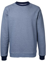 Oliver Spencer Mali Sweatshirt Blue