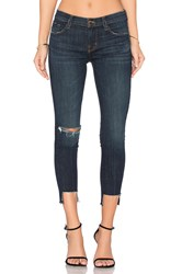J Brand 9326 Low Rise Crop Skinny Disguise Destructed