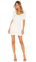 Torn By Ronny Kobo Colby Dress In White.
