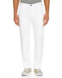 Ag Green Label Slim Fit Pants Bright White