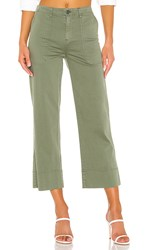 Sanctuary Unearthed Patch Pocket Pant In Green. Peace Green