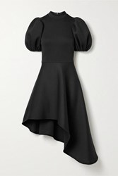 Beaufille Leo Asymmetric Jersey Dress Black