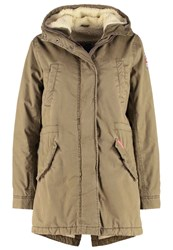 Superdry Parka Deepest Army Oliv