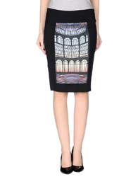 Leitmotiv Skirts Knee Length Skirts Women Black