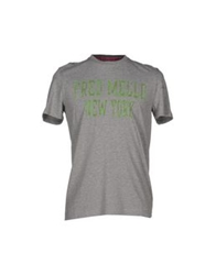 Fred Mello T Shirts Grey