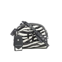 Marc Jacobs Women's Shutter Zebra Shoulder Cross Body Bag Dove Multi