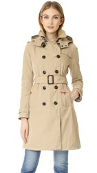 Woolrich Fayette City Trench Coat White Pepper