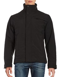 Weatherproof Open Bottom Flex Tech Jacket Black
