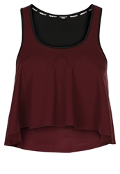Rebecca Minkoff Tippi Top Eggplant Dark Red