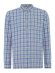 Howick Men's Bloomfield Checked Long Sleeve Shirt Grey